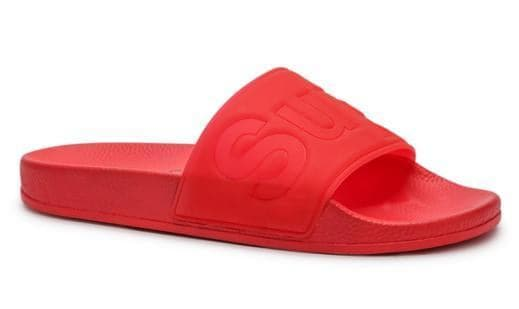 SUPERGA FOOTWEAR SUPERGA 1908 POOL SLIDE - RED