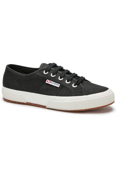 SUPERGA FOOTWEAR SUPERGA 2750 COTU CLASSIC - BLACK/WHITE