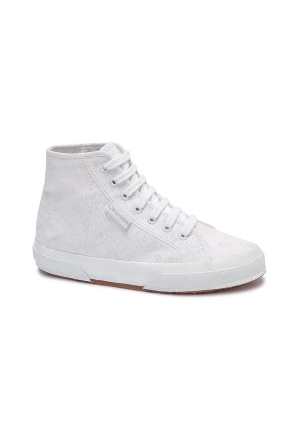 SUPERGA FOOTWEAR SUPERGA HI TOP COTU CANVAS - WHITE
