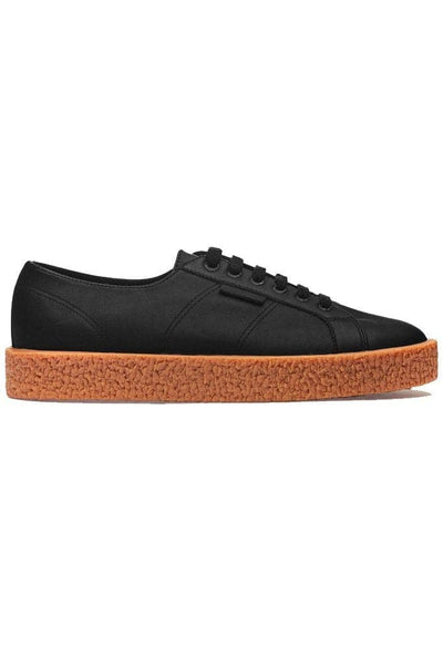 SUPERGA FOOTWEAR SUPERGA WOMENS MEGA PAURA PLATFORMS - BLACK