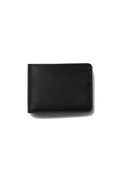 The Academy Brand WALLET O/S THE ACADEMY BRAND LEATHER WALLET - BLACK