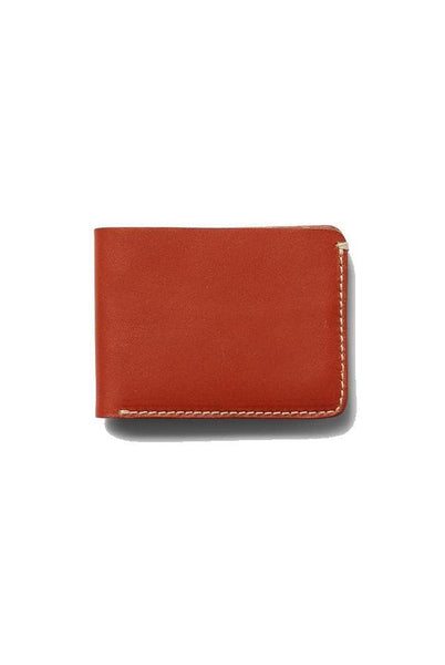 The Academy Brand WALLET O/S THE ACADEMY BRAND LEATHER WALLET - TAN