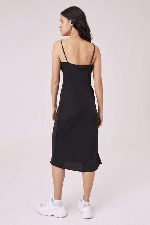 THE FIFTH LABEL DRESSES THE FIFTH LABEL OPTICAL DRESS - BLACK