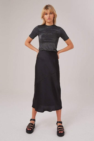 THE FIFTH LABEL SKIRTS THE FIFTH LABEL POPULATIONS SKIRT - BLACK