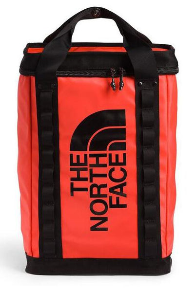 THE NORTH FACE BACKPACK THE NORTH FACE EXPLORE FUSEBOX BACKPACK LARGE - RED