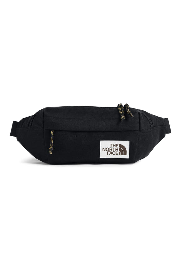 THE NORTH FACE BACKPACK THE NORTH FACE LUMBAR PACK BODY BAG - BLACK