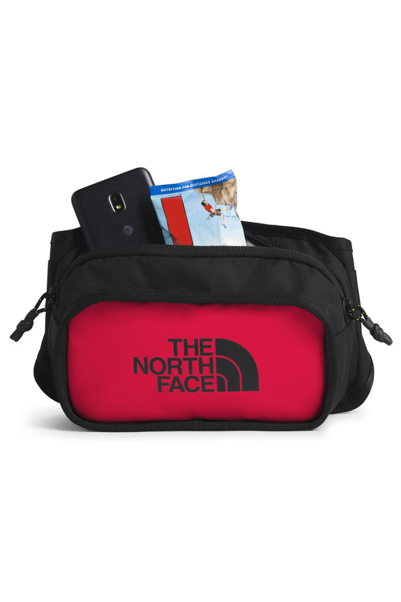 THE NORTH FACE BACKPACK THE NORTH FACE SIDE BODY BAG - BLACK/RED