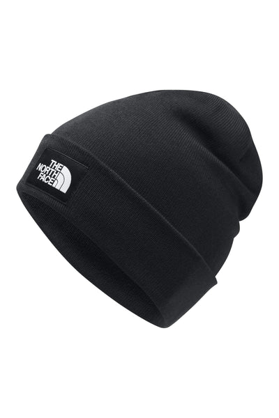 THE NORTH FACE BEANIES ONE SIZE THE NORTH FACE DOCK WORKER BEANIE - BLACK