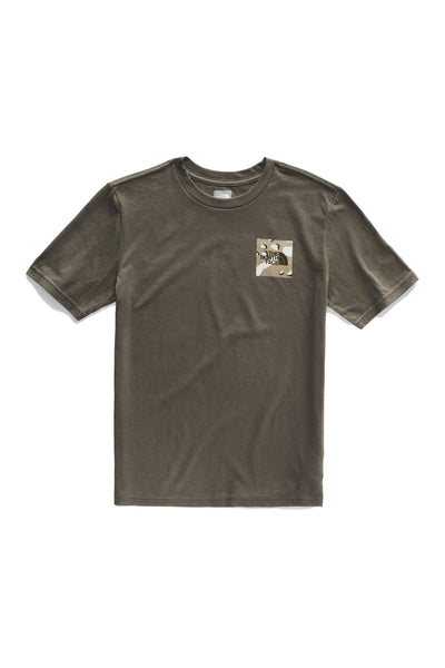 THE NORTH FACE TEES THE NORTH FACE BOYS/YOUTH GRAPHIC TEE - KHAKI