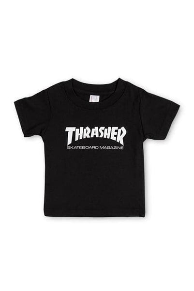 THRASHER MAGAZINE KIDS THRASHER SKATE MAG TODDLER TEE - BLACK