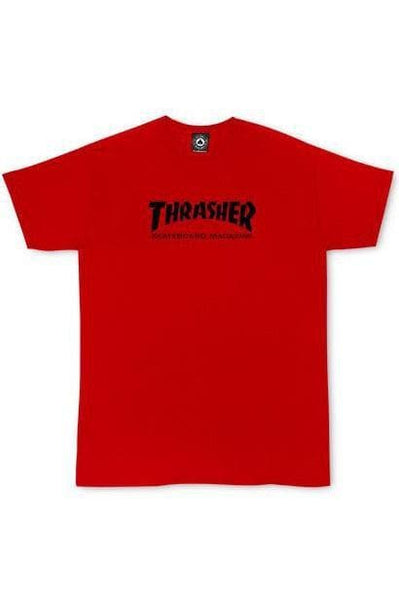 THRASHER MAGAZINE KIDS THRASHER SKATE MAG YOUTH TEE - RED