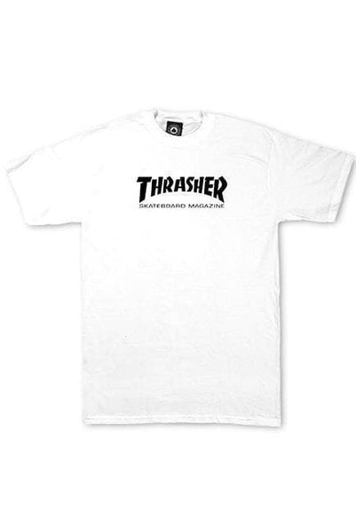 THRASHER MAGAZINE KIDS THRASHER SKATE MAG YOUTH TEE - WHITE