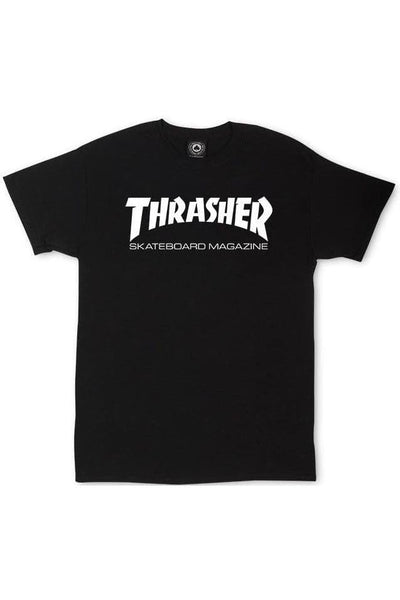 THRASHER MAGAZINE YOUTH THRASHER SKATE MAG YOUTH TEE - BLACK