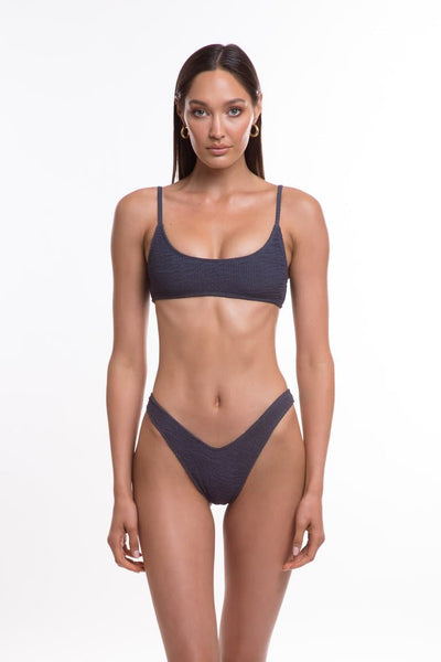 TJ SWIM SWIMWEAR TJ SWIM CARA BOTTOMS - SLATE