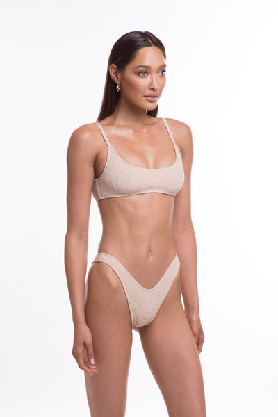 TJ SWIM SWIMWEAR TJ SWIM CARA TOP - SALT