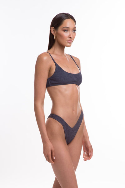 TJ SWIM SWIMWEAR TJ SWIM CARA TOP - SLATE