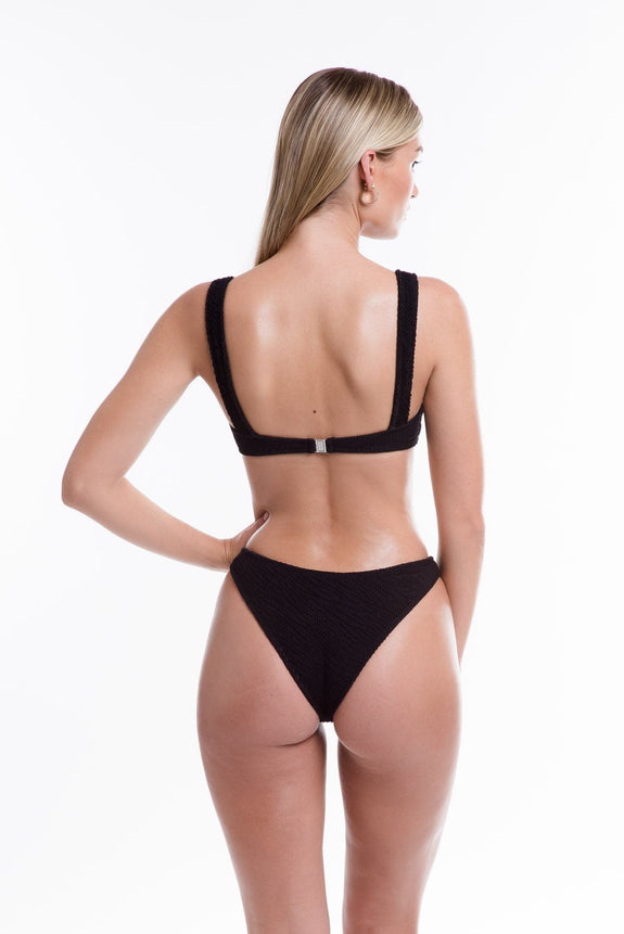 TJ SWIM SWIMWEAR TJ SWIM ISLA BOTTOMS - BLACK