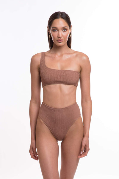 TJ SWIM SWIMWEAR TJ SWIM WILLOW BOTTOMS - MOCHA