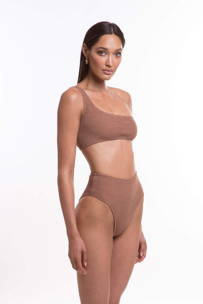 TJ SWIM SWIMWEAR TJ SWIM WILLOW TOP - MOCHA