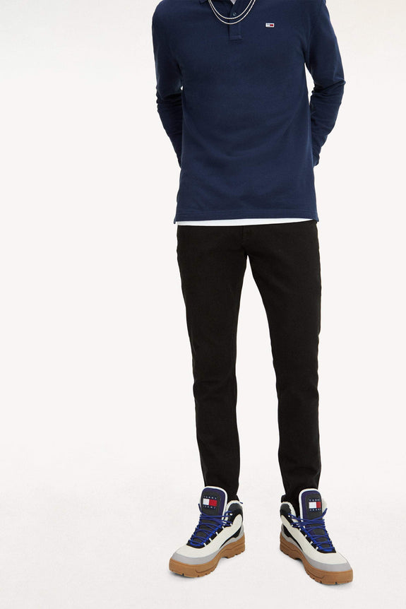 TOMMY JEANS JEANS TOMMY JEANS SCANTON SLIM FIT BLACK JEANS