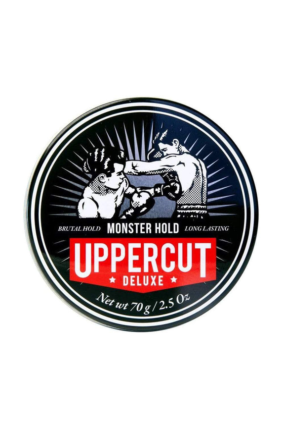 UPPERCUT DELUXE HAIR PRODUCT UPPERCUT DELUXE MONSTER HOLD - BLACK TIN