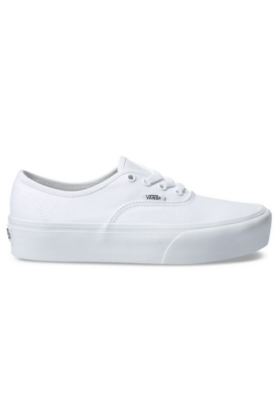 VANS FOOTWEAR VANS AUTHENTIC PLATFORM 2.0 - WHITE