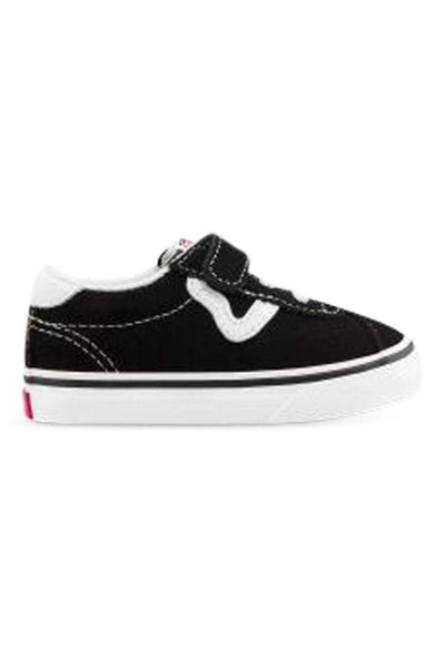 VANS FOOTWEAR VANS TODDLER SPORT VELCRO - BLACK/WHITE