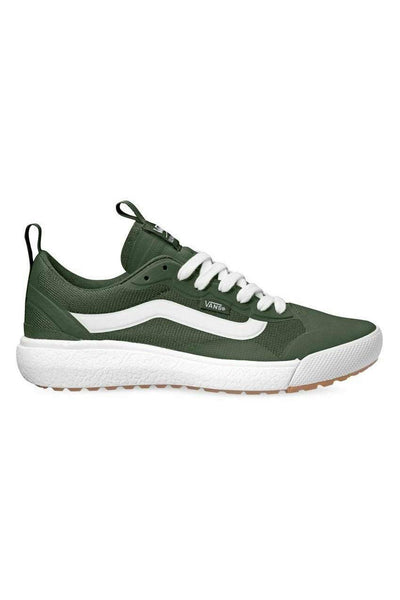 VANS FOOTWEAR VANS ULTRARANGE EXO SHOE - KOMBU GREEN/WHITE