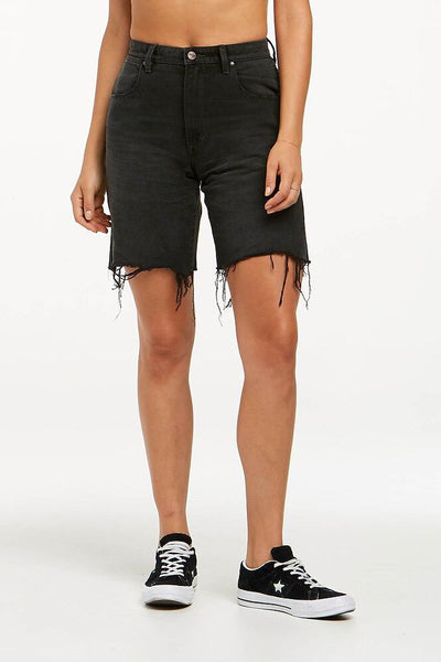WRANGLER LADIES SHORTS WRANGLER FRANCES SHORT - MOONSHADOW