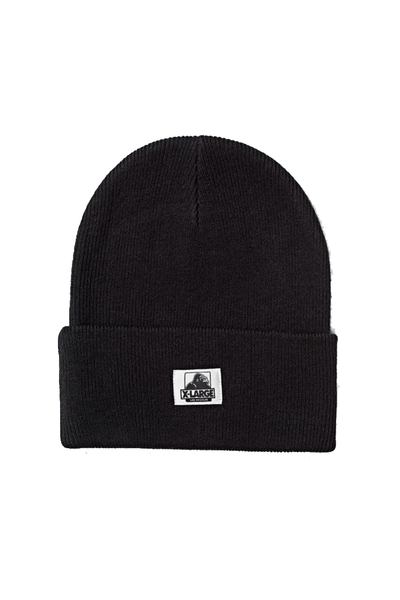 X-LARGE HAT ONE SIZE X-LARGE OG BEANIE - BLACK