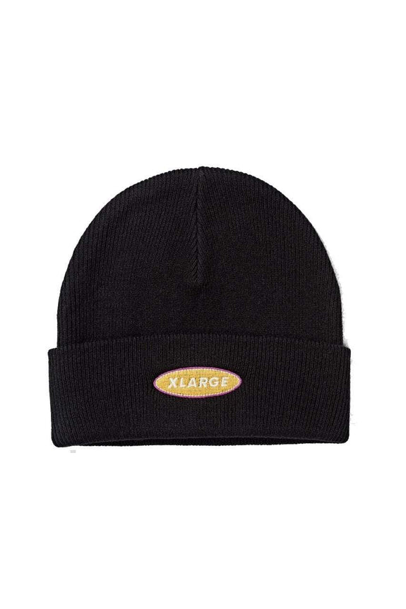 X-LARGE HAT ONE SIZE X-LARGE STREET BEANIE - BLACK