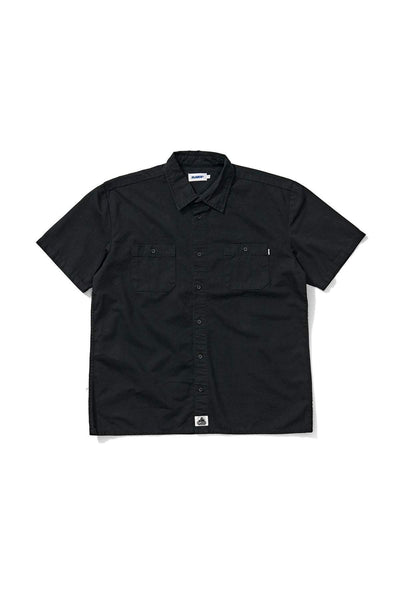 X-LARGE TEE'S X-LARGE SS WORKSHIRT - BLACK