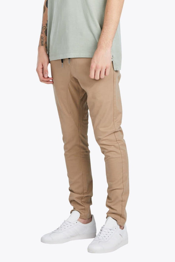 ZANEROBE PANTS ZANEROBE SALERNO CHINO - TAN
