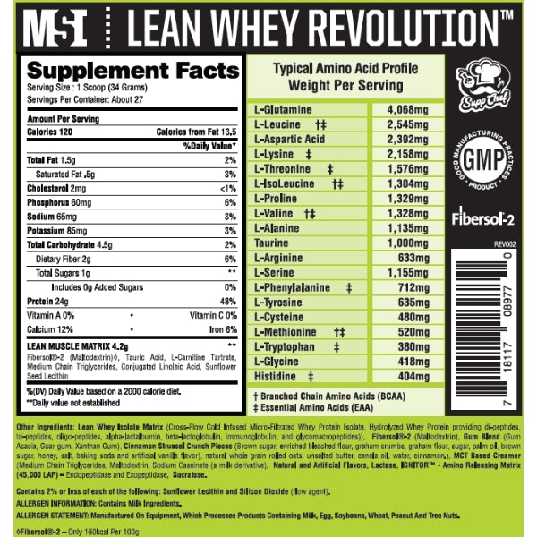 Lean Whey Revolution