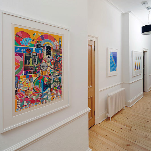 Original Prints Transform an Edinburgh Home