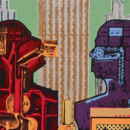 Eduardo Paolozzi Exhibition at Whitechapel Gallery