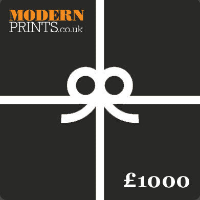 ModernPrints £1000 Gift Card