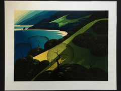 Above The Sea Eyvind Earle