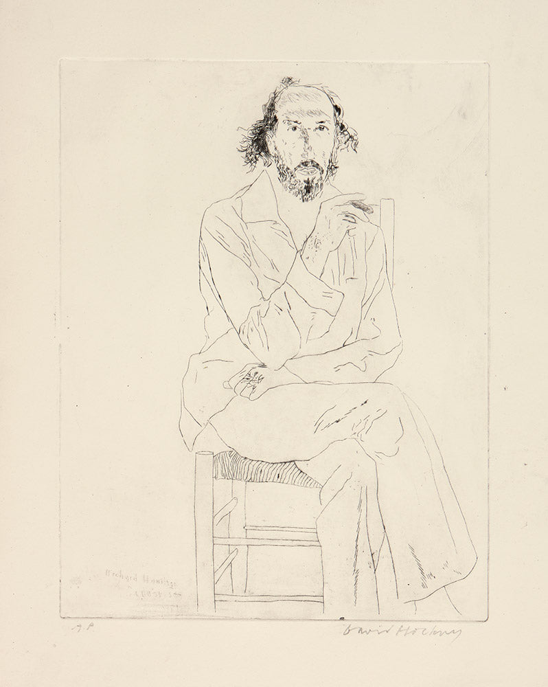 Portrait of Richard Hamilton