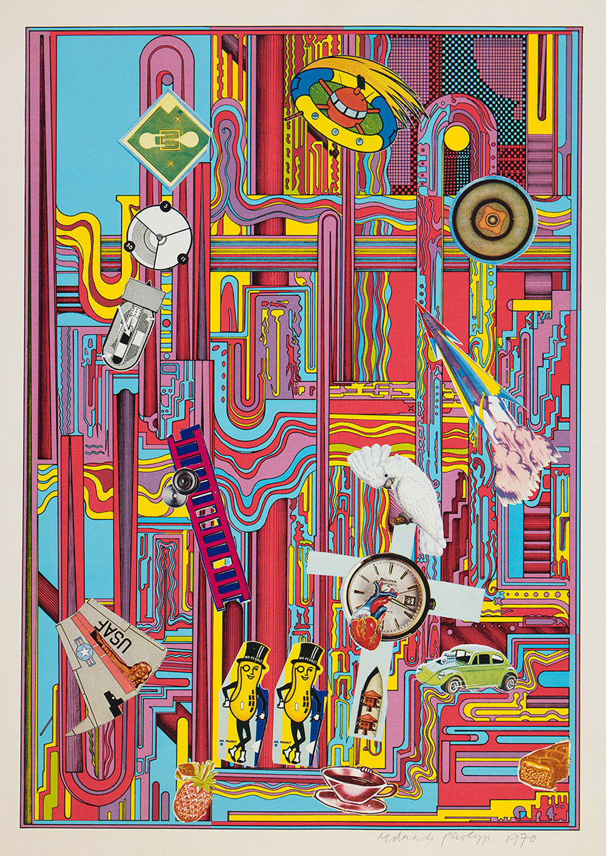 Eduardo Paolozzi  Mr Peanut Red