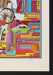 Eduardo Paolozzi  signed screeprint