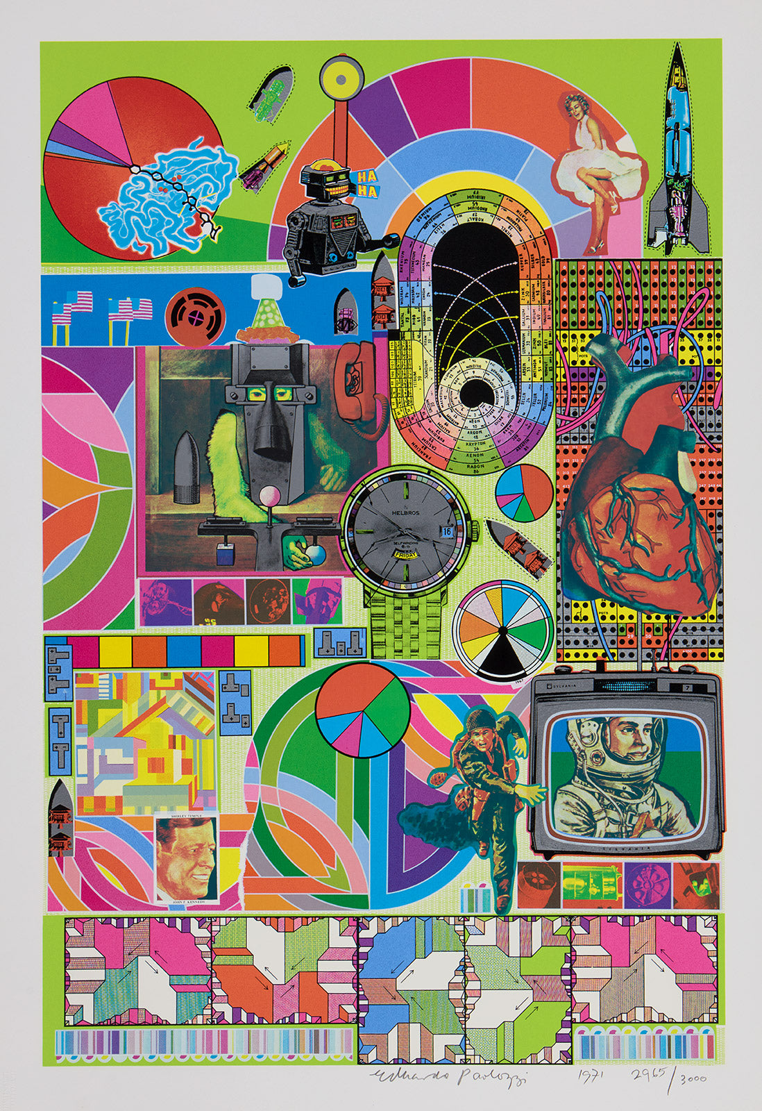 paolozzi bash lime green