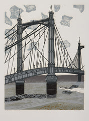 Edward Bawden Albert Bridge