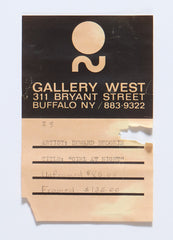 Hodgkin original Gallery label