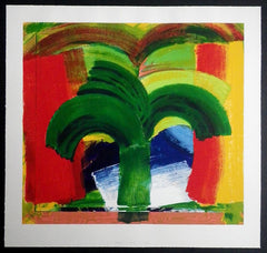 In Tangier Hodgkin screenprint