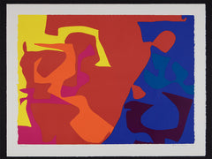 january 1973:3 patrick heron signed print