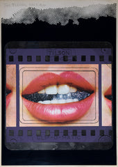 Joe Tilson Transparency Lips