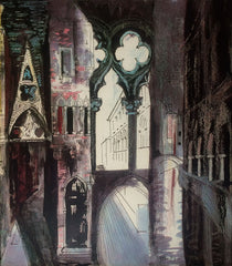 John Piper Death in Venice IV