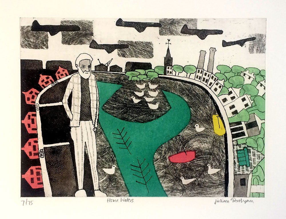 Julian Trevelyan Home Waters print