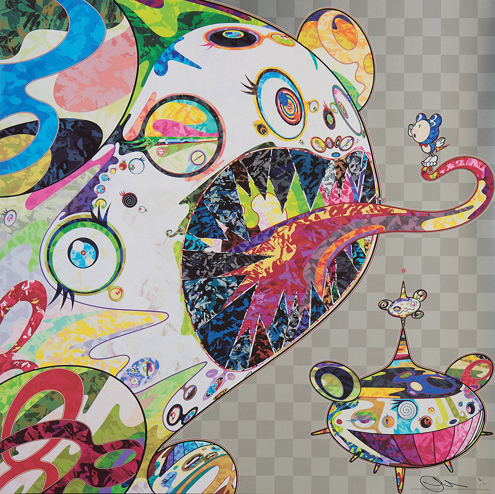 Takashi Murakami Homage to Francis Bacon Study of George Dyer